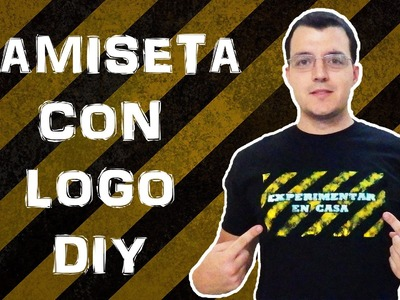 CAMISETA CON LOGO CASERA