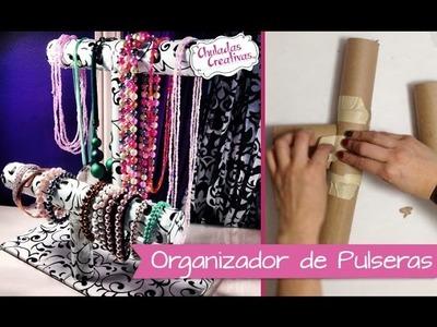 Chuladas Creativas :: Porta Pulseras Relojes y Collares :: Manualidades