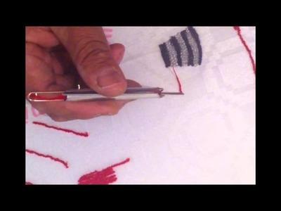 Cómo bordar con la Aguja Mágica - Creaciones Angie
