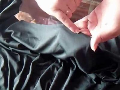 Como confeccionar el solero o blusa al bies