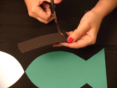 Cómo hacer adornos para la pared : Manualidades para niños en goma Eva