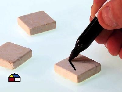 ¿Cómo hacer juegos playeros con piedras decorativas?