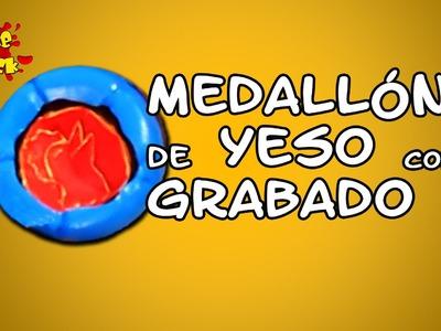 Cómo hacer Medallones de Yeso Grabados