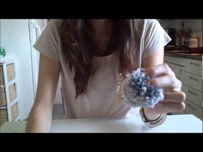 Cómo hacer pompones de lana | facilisimo.com