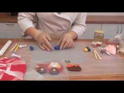 Cómo hacer tarta para niños en fondant