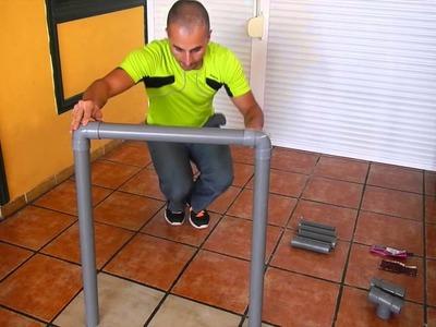Como hacer tu dips station o paralelas