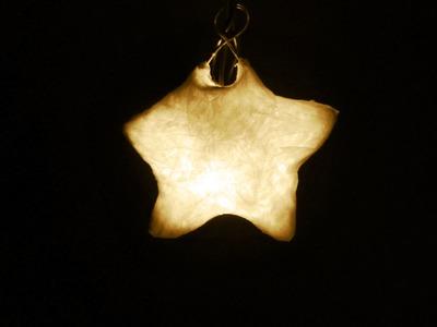Cómo hacer una estrella de papel con luz | facilisimo.com
