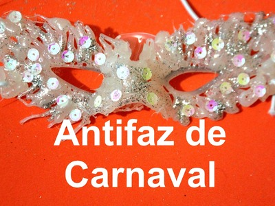 Cómo hacer una mascara o antifaz  fácil de carnaval