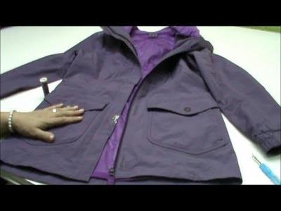 Cómo solucionar un roto en una chaqueta
