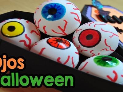DIY : Haz unos terrorificos ojos para decorar este Halloween!