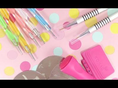 DIY : ♥ Herramientas caseras para decorar Uñas ♥