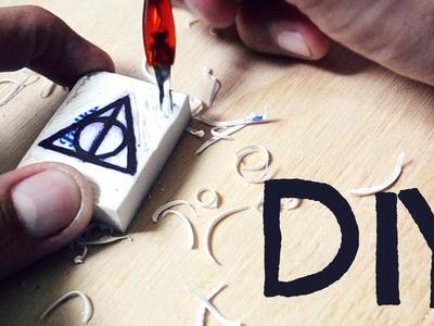 DIY | Sellos (Literarios) con Gomas de Borrar