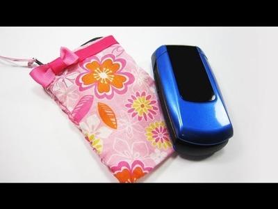 Episodio 536- Cómo hacer una bolsita para su celular o teléfono móvil