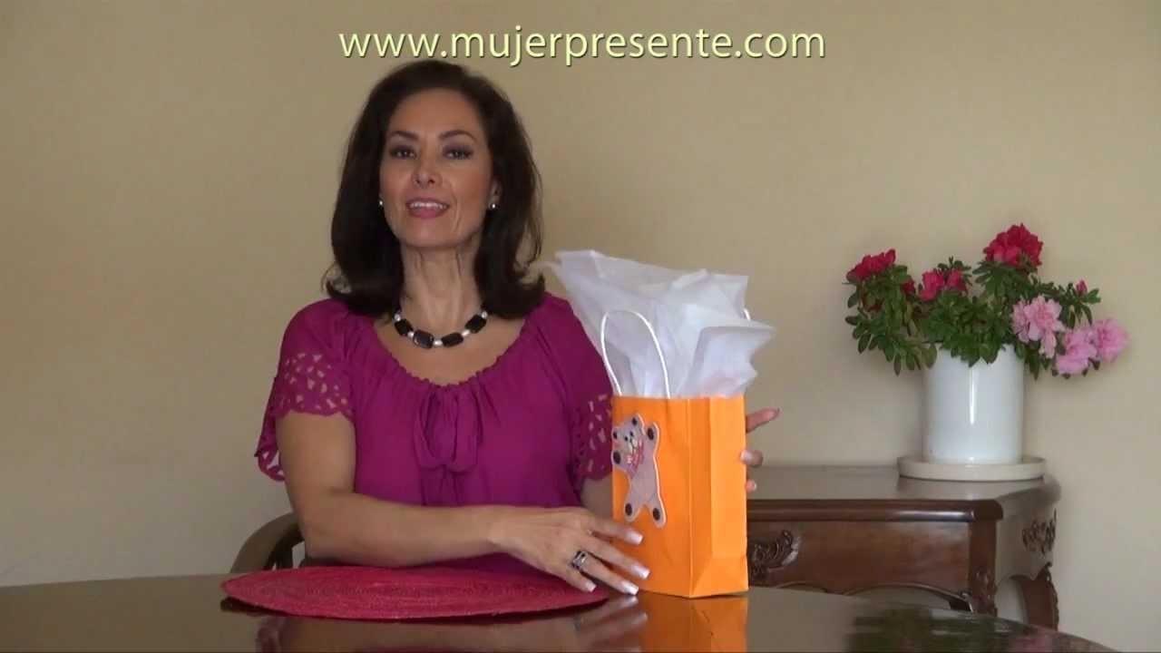 Manualidades con Beatriz Guajardo, Bolsas de regalo personalizadas