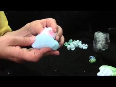 Muñecos Soft. nena alas de tela comunion 2.2. proyecto 39