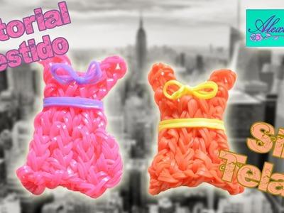 ♥ Tutorial: Vestido de gomitas (sin telar) ♥