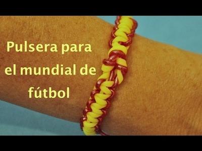 Pulsera para el  Mundial de fútbol