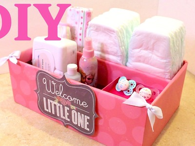 Caja organizadora para Bebes -  Baby -  Organizer - Reciclando Bolsas de Papel