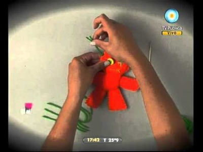 Caja rodante: Hoy te mostramos cómo: Muñeco de trapo - 30-03-11