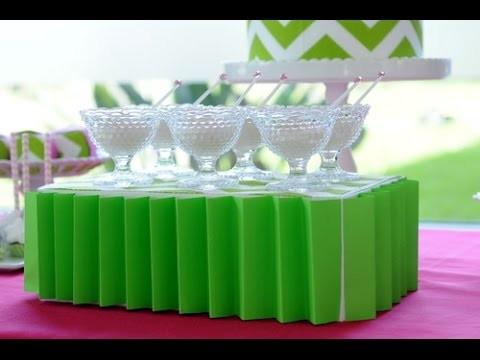 Candy Bar - Decoracion Navideña - Como forrar una Caja - Souvenirs