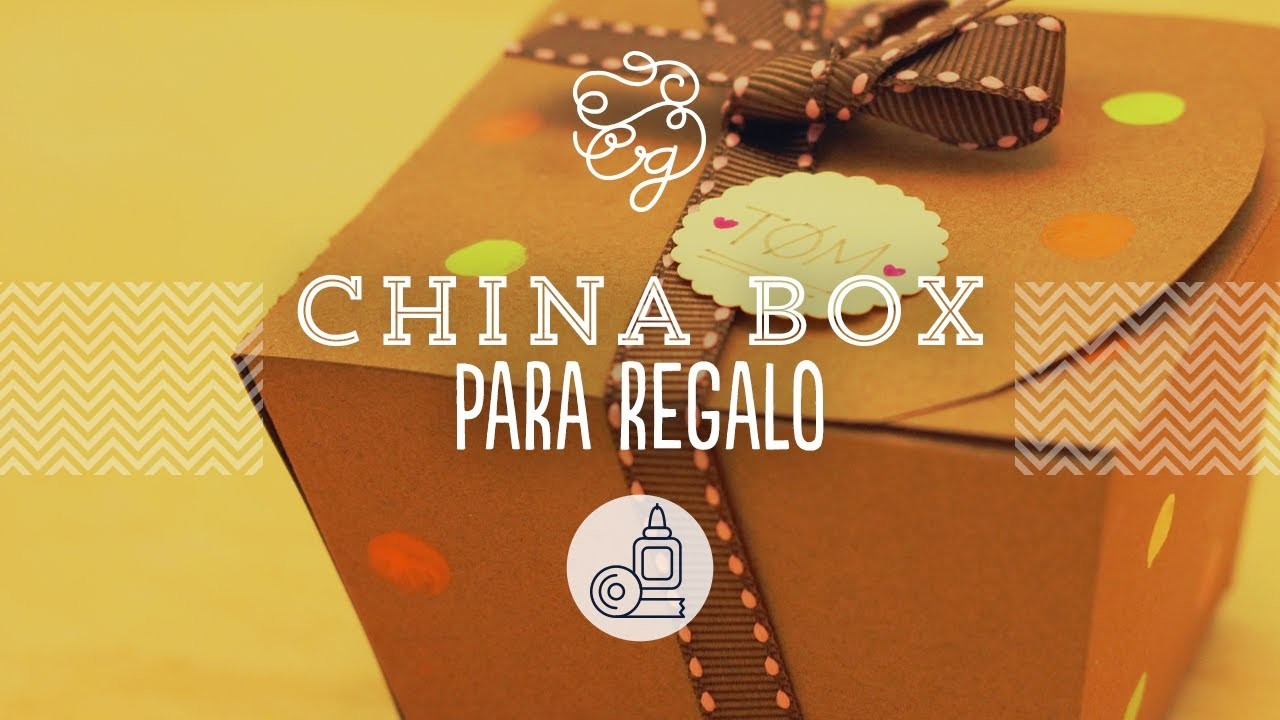 China box: cajita para dulces hecha por ti | Craftingeek*