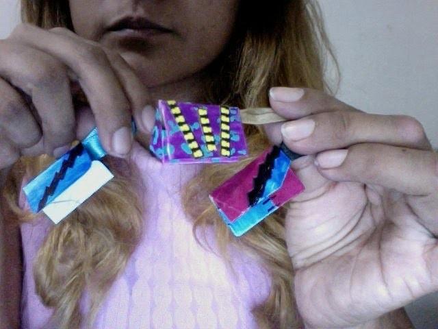 Como hacer bolsas o carteras para Monster High