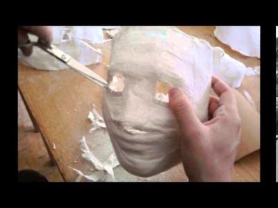 ¿Cómo hacer manualidades con papel higiénico? (papel mache)