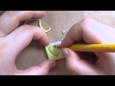 Como hacer sellos con gomas de borrar