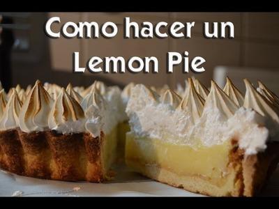 Como hacer un lemon pie