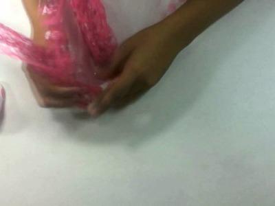 Como hacer un tutu para niña paso a paso
