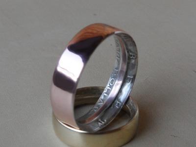 Crea un anillo con una moneda de medio dolar estadounidense