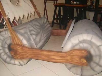 CREARTE Diseños - TRONCOMOVIL de Hule Espuma.