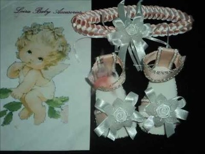 Leira Baby Accesories(Sandalias y Diademas para bebe)