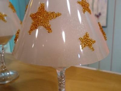 Navidad - Manualidades - Reciclar platos descartables - Martha Cacacio