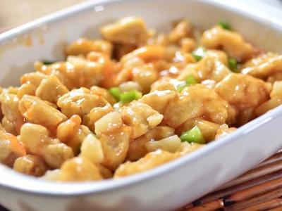 Pollo agridulce estilo oriental - Receta fácil de preparar