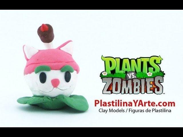 Rabo de Gato de Plastilina de Plantas vs Zombies