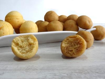 Receta: Base para cake pops -- Con y sin molde -- bizcobolas