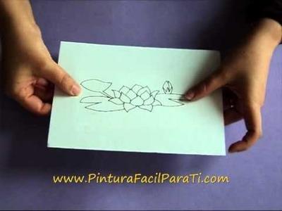 Transferir Patrones en Foami Goma Eva. Foamy Rubber Eva Transfer - Pintura Facil