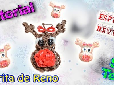 ♥ Tutorial [ESPECIAL NAVIDAD]: Carita de Reno (sin telar) ♥
