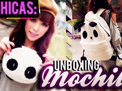 #Unboxing: Mochila de Panda ♥ Compra por Facebook!