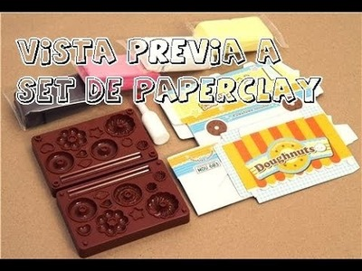 Vista Previa a Set de Paper Clay Japones. Craftndcolor