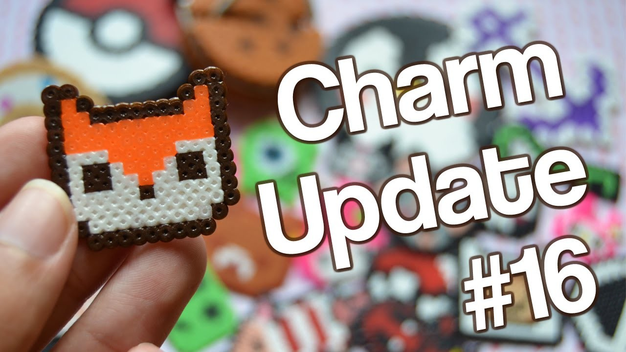 Charm Update #16 ~ ¡Manualidades con Hama Beads!