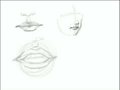 Cómo dibujar Bocas