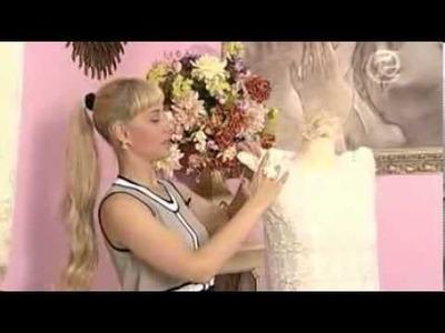 Como hacer un vestido clasico de encaje