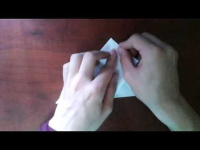 Cubo de origami con alas