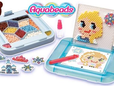 Juguetes de frozen - Elsa Ana Olaf Aquabeads juego manualidades de muñecas