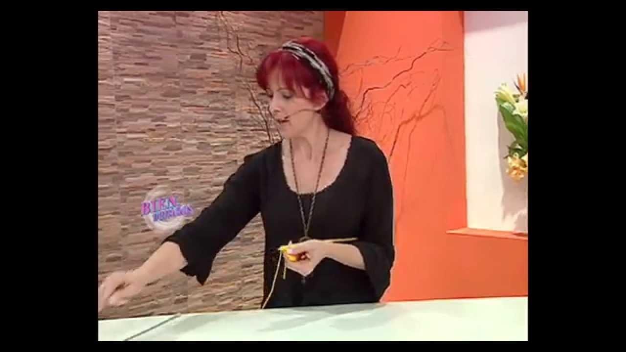 Mabel Gómez - Bienvenidas TV - Teje un hermoso Gorro.