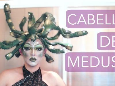 #104 HAZ EL CABELLO DE MEDUSA! | D.I.Y. | HALLOWEEN&DÍADEMUERTOS | PABLO CAMARÓN | ♛ ♻