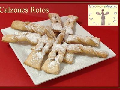 Calzones Rotos  (HD) Dulce Típico de Chile