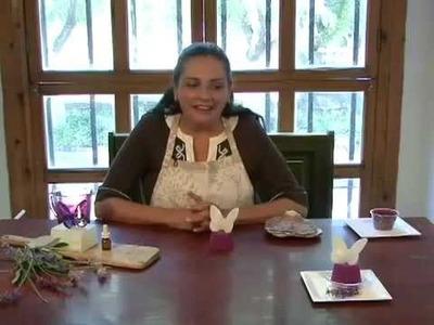 Como hacer un jabón en forma de cupcake con una mariposa